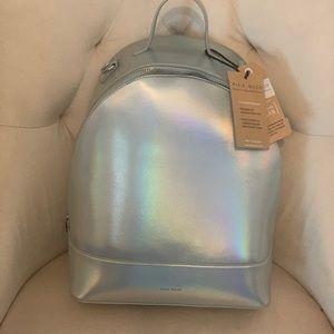 Pixie Mood Metallic Hologram Backpack NEW